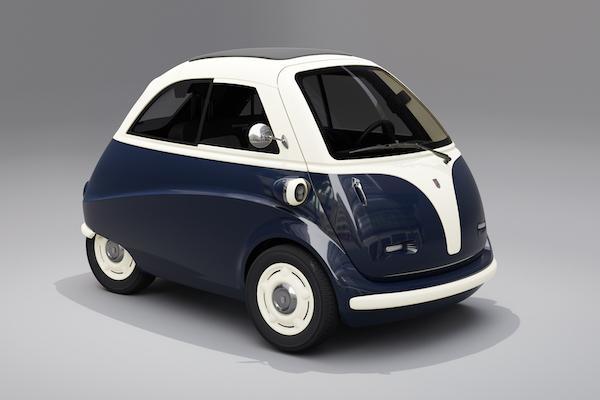 50年代經典小車重出江湖!德國泡泡車升級電動車