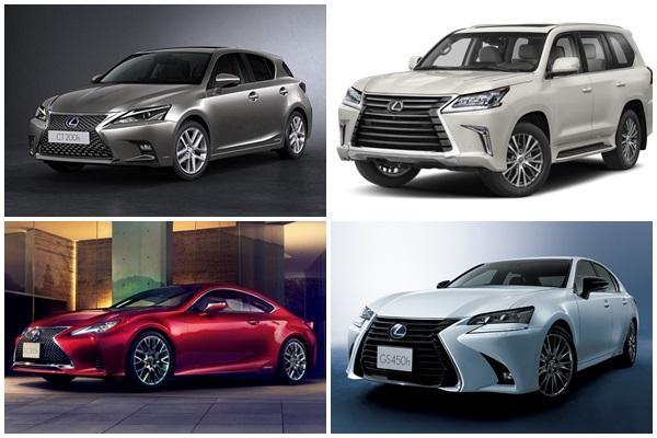 悄悄從台灣官網下架,Lexus 休旅、掀背等部分車款暫別市場!