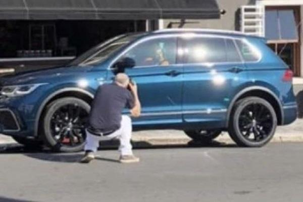 實車意外驚喜被捕獲!新 VW Tiguan 現身
