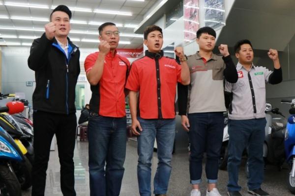 台南 Kymco、SYM、Yamaha 等經銷商抗議補助不公,期盼實現「真」油電平權!