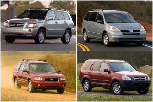 車主至少持有 15 年以上車款榜單,其中 10 款車都來自同一品牌!