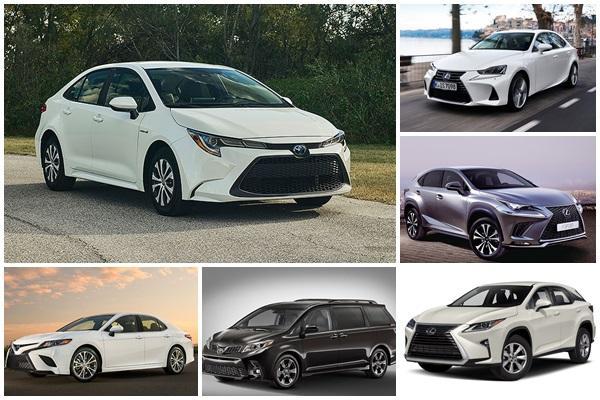 超過 20 款車型有問題,美 Toyota/Lexus 近 70 萬輛需召回!