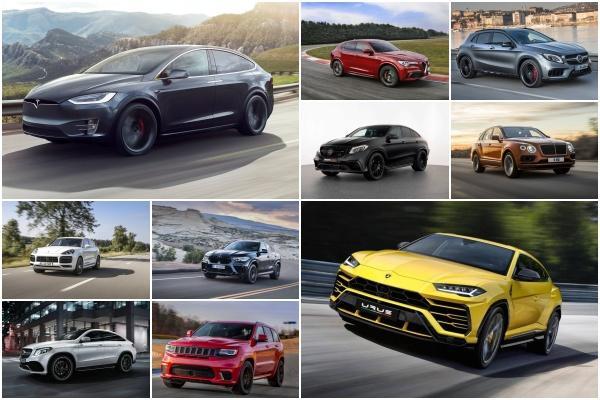 前五名成績都在 4 秒內!全球加速最快 10 款 SUV是它們