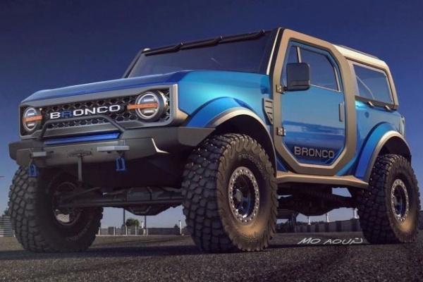 Ford 全新越野 SUV 亮相時間出爐,將有雙門與四門版本!