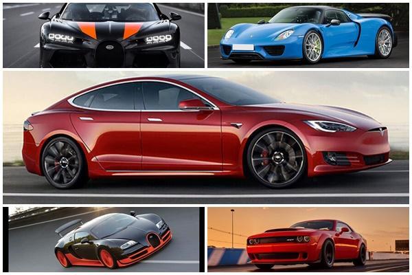 Bugatti 被電動車擊敗,全球破百加速榜單出爐!