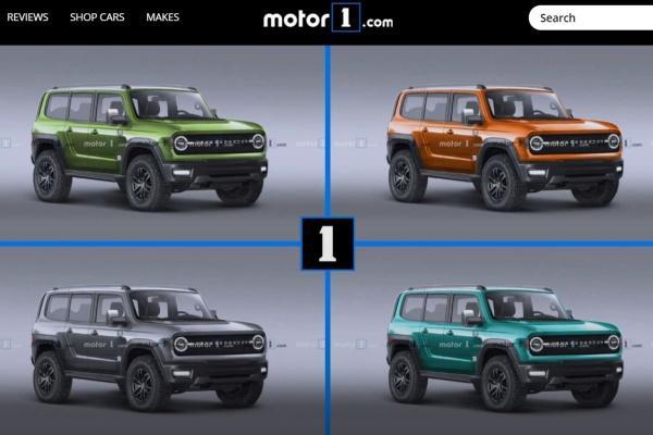 Ford 全新越野 SUV 可能樣貌出爐,預計今年 4 月登場!