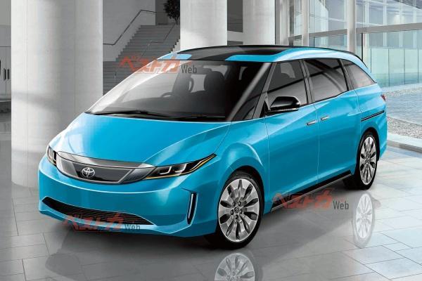 日媒稱 Toyota Previa 重啟開發,最新可能樣貌出爐!