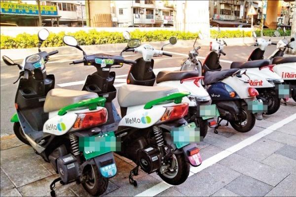 《台北》共享運具違規暴增 去年近萬件