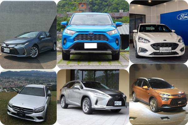 RAV4 破 4000 輛技壓 Altis!1 月台灣新車銷售速報