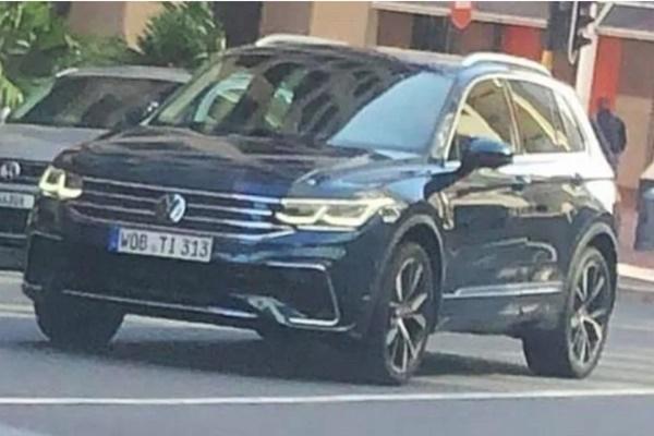 RAV4 也在它的射程,VW 改款新 Tiguan 實車全都露!