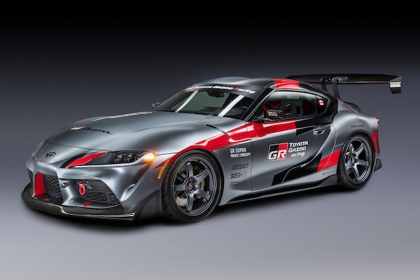 全車重度大改裝!Toyota GR Supra 跑車化身強悍賽車現身