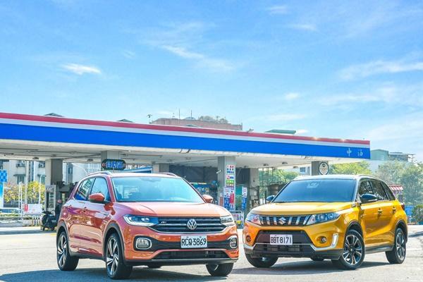 【油耗測試】小排氣休旅有多省油?VW T-Cross、Suzuki Vitara 市區+高速實測 200 公里!