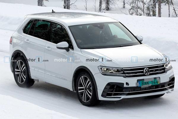 引擎藏有秘密!VW Tiguan 無偽裝測試車被捕獲