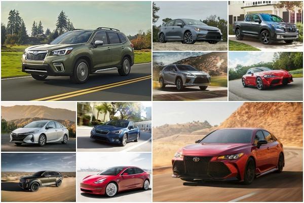各級距實測表現最佳!《消費者報告》公布 2020 最推薦 10 款車