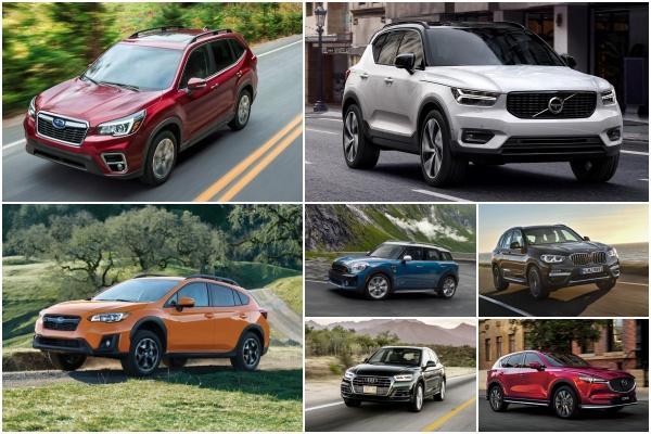 消費者報告:車主滿意度最高的 7 款中小型 SUV!台灣通通買得到