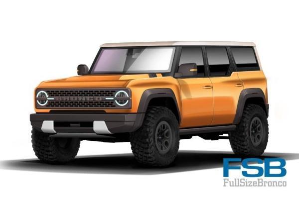 Ford 全新越野 SUV 可能樣貌出爐,粗獷外型引車迷討論!
