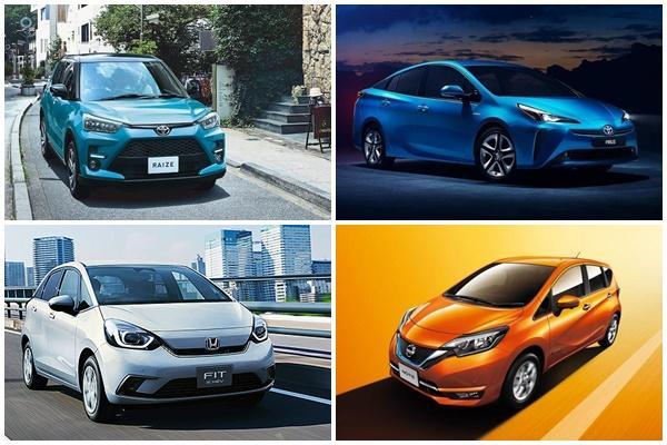 日本 2 月新車銷售,Toyota 小休旅奪冠、 Honda Fit 重回前 10!