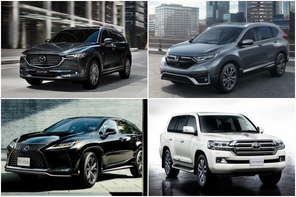 評選日系 SUV 第三排座椅舒適性,日媒推薦這 4 款七人座休旅!