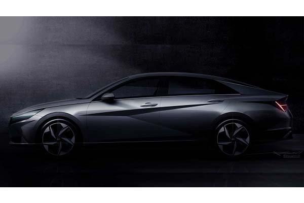 迎擊 Altis、Focus,Hyundai 搶先釋出大改款 Elantra 內外觀!〈內有影片〉