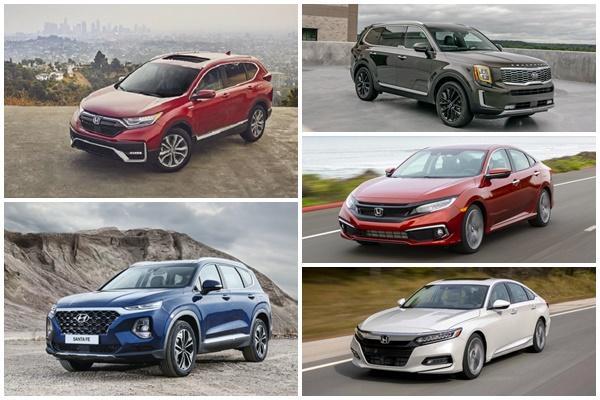 Honda CR-V 擊敗 Toyota RAV4 得冠,美 KBB 新車購買名單出爐!
