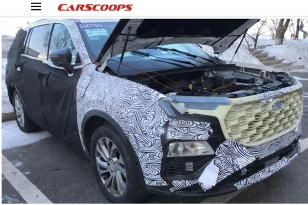 Ford 七人座 SUV 準備發表,外媒:預計第三季將問世!