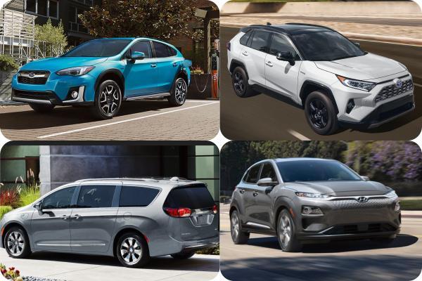 外媒推薦 8 款最佳油電/電動休旅車,日韓車款就包辦前五名!