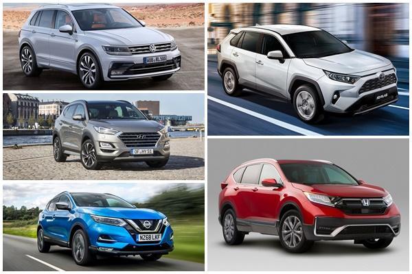 全球休旅暢銷 Top 10 榜單:Toyota RAV4、Honda CR-V 勝負揭曉!