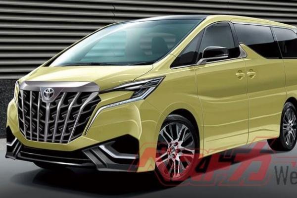 Toyota 高級 MPV 大改款時間點出爐,車室空間再升級!