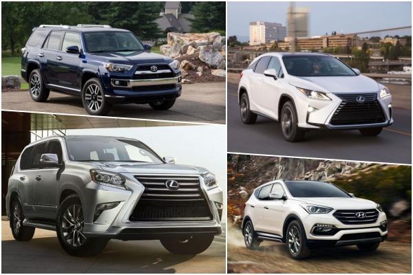 消費者報告最推薦的 5 款二手 SUV,多達 4 款來自同集團!