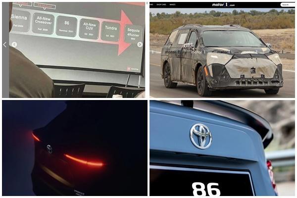 2 款休旅、1 款 MPV 準備問世,Toyota 內部資料外洩被看光!