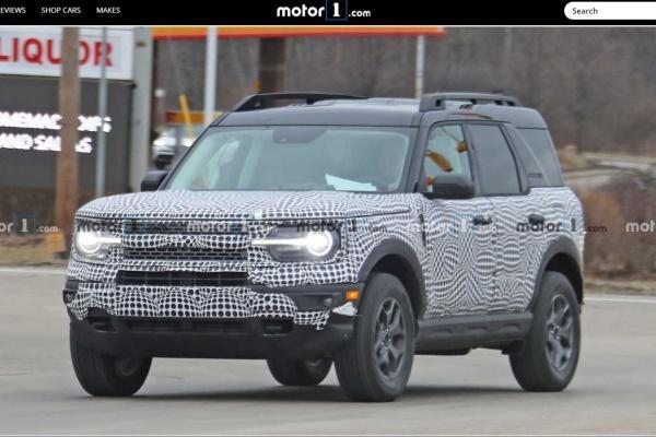 Ford 全新 SUV 清晰身影曝光,預計今年 4 月發表亮相!