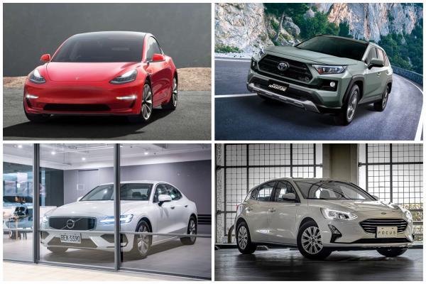 RAV4、Altis 與 Model 3 成最大贏家!3 月台灣新車銷售速報出爐