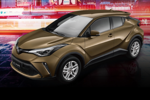 Toyota 全新跨界 SUV 資訊曝光,介於 C-HR 與 RAV4 之間!
