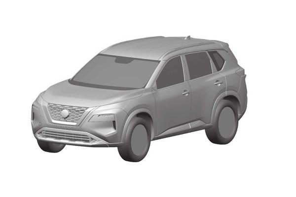 Toyota RAV4 請接招,新一代 Nissan X-Trail 實車外型曝光!