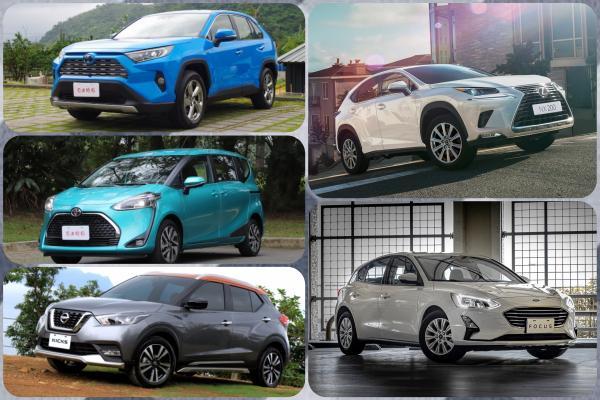 神車 Altis 被第一名海放 1800 輛!台灣新車第一季 Top 10 排行榜公布