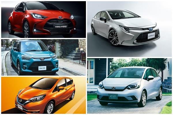Toyota 新休旅人氣下滑、Honda Fit 緊追 Corolla,日本 3 月新車排行戰況精采!