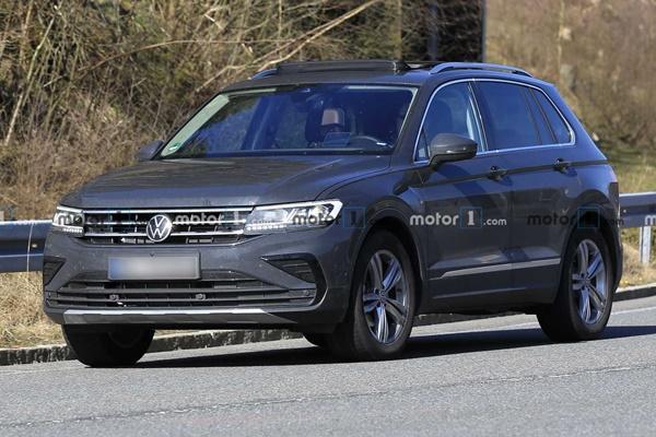 高清無偽裝讓你看,小改款 VW Tiguan 離正式發表不遠了!