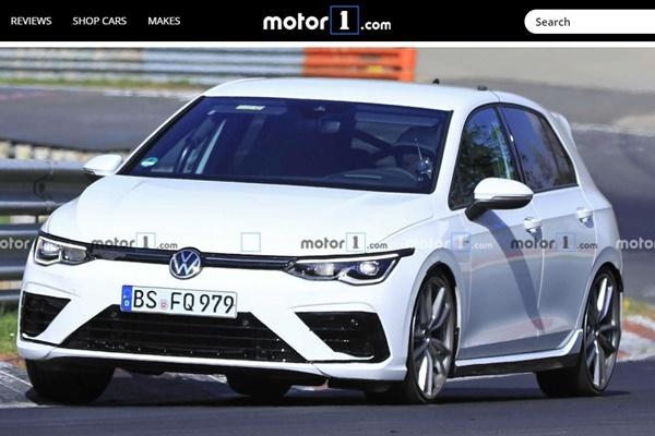 王牌無偽裝被捕獲,VW 新一代最強 Golf 現身!