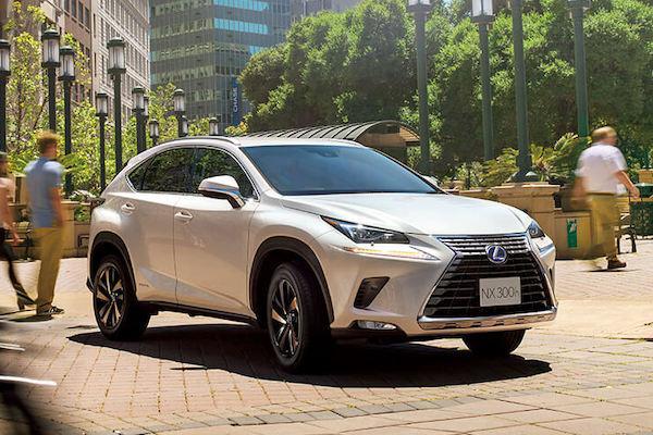 Lexus NX 又有新車名曝光!外媒推論將有新動力選擇