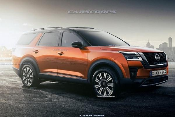 比 X-Trail 大一號的七人座 SUV,新一代 Pathfinder 可能樣貌出爐!