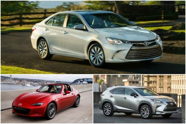 針對 3 年車齡的新古車,消費者報告公布最可靠 TOP10 榜單!