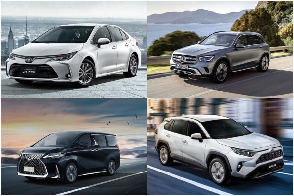 台灣 4 月新車銷售排行榜出爐!受疫情影響比去年同期衰退 12%