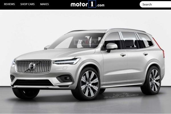 Volvo 旗艦休旅 XC100 確定開發,首組外觀預想圖曝光!