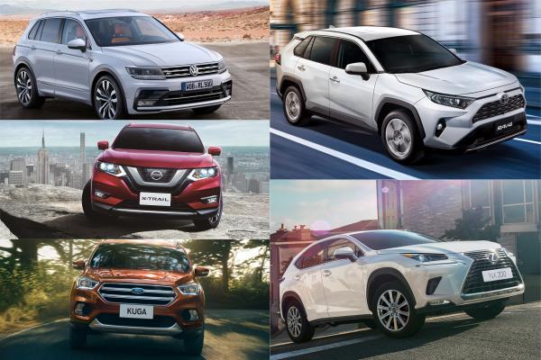 進口車就佔了 6 個席次!今年 1 至 4 月台灣 SUV 休旅銷售 Top10