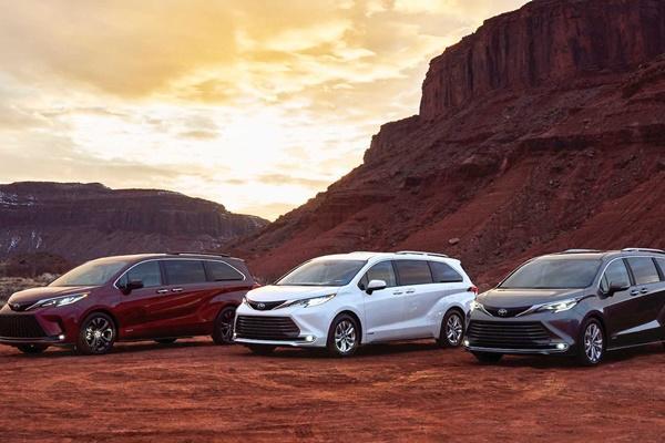 換上 RAV4 平台與油電,新一代 Toyota Sienna 正式發表!