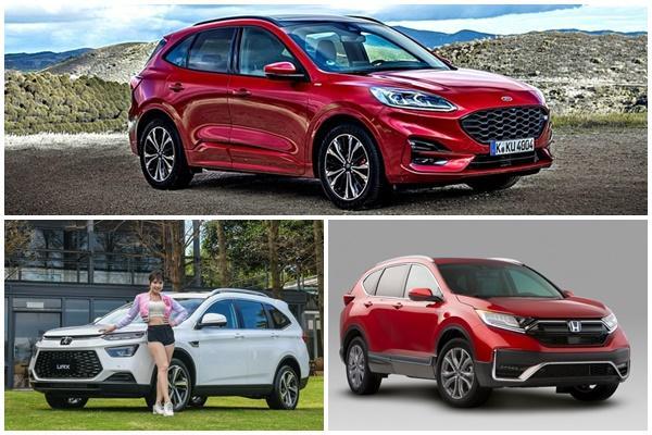 下半年休旅新星:Ford Kuga、Luxgen URX、Honda CR-V 拚人氣!