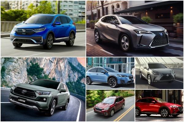 兼顧可靠性與省油的 7 款中小型 SUV!全都來自日系車廠