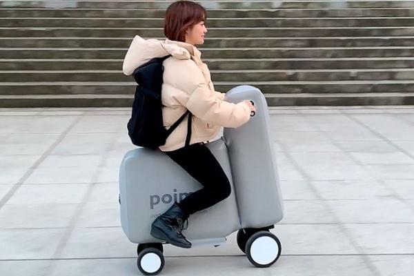 日本研發充氣電動自行車!還可以直接收進背包裡