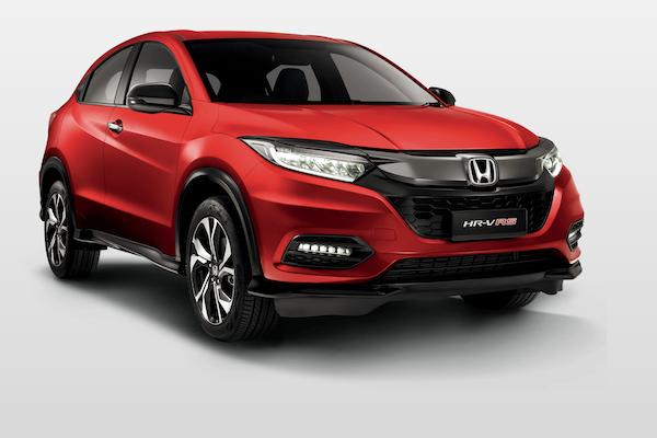 台灣也快要推出!Honda HR-V RS 海外新版本亮相