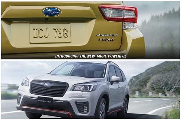 Subaru 跨界休旅新作預告登場  台灣Forester e-Boxer 油電版預定今年見